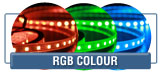 RGB Colour LED Strip Lights, RGB Strips
