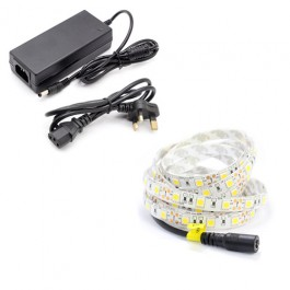 5m Single Colour LED Strip Light Kit (60x5050, 14.4W, 1020LM)