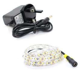 2m Single Colour LED Strip Light Kit (120x3528, 9.6W, 800LM)