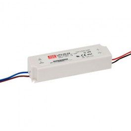 35W LPV-35 Waterproof LED Driver