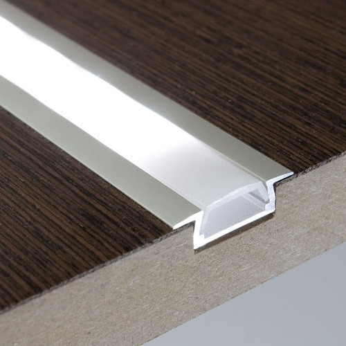 Buy 1m Recessed Aluminium Profile/Extrusion Online at Low Prices in UK - www.ledstriplights.co.uk