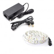 5m Single Colour LED Strip Light Kit (60x3528, 4.8W, 400LM)